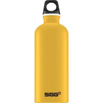 Achat en ligne Bouteille nomade alu jaune moutarde 60 cl 21.5 x 7.1 cm - Sigg