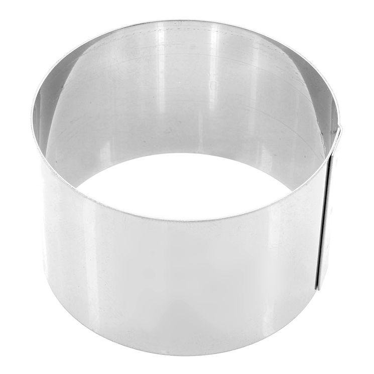 Cercle en inox  7 cm hauteur 4.5 cm - Gobel