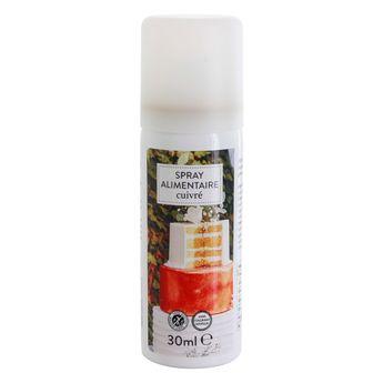 Achat en ligne Spray alimentaire colorant cuivré 30ml