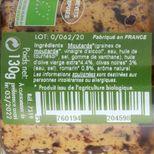 Moutarde bio olives noires romarin 130g - Savor et Sens
