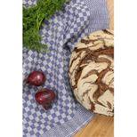 Torchon Tradi carreaux bleu - Tissage de l´ouest