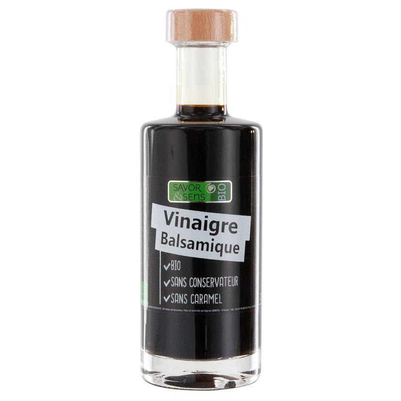 Vinaigre balsamique bio 25cl - Savor et Sens