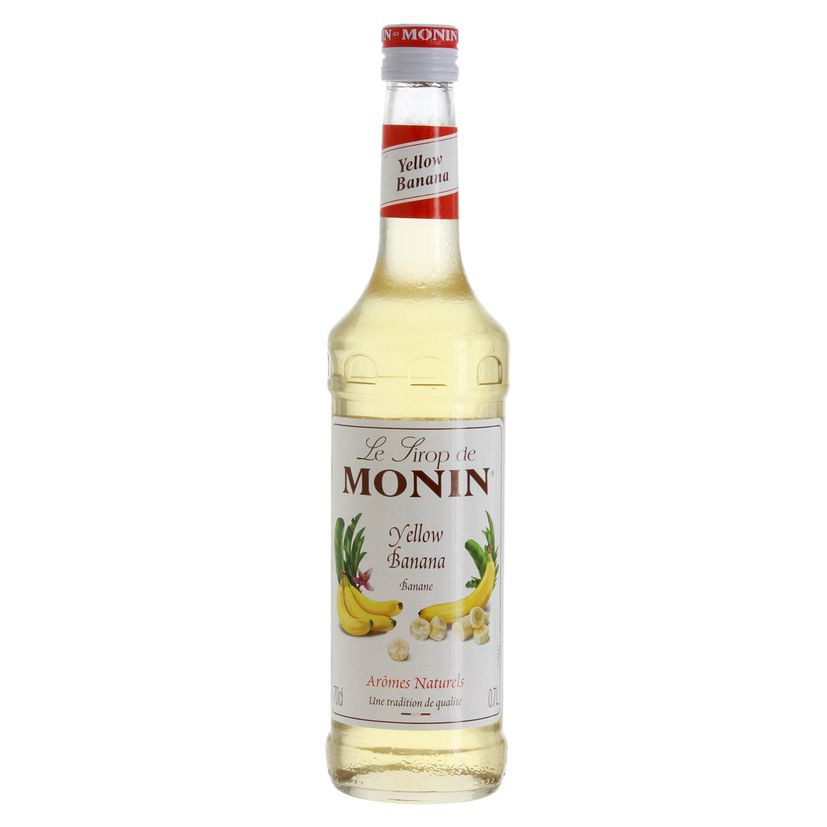 Sirop Banane jaune 70 cl - Monin