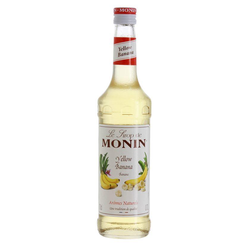 Sirop banane jaune 70cl - Monin