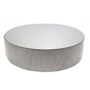 Achat en ligne Présentoir miroir contours effet diamants 30 cm - Patisdecor