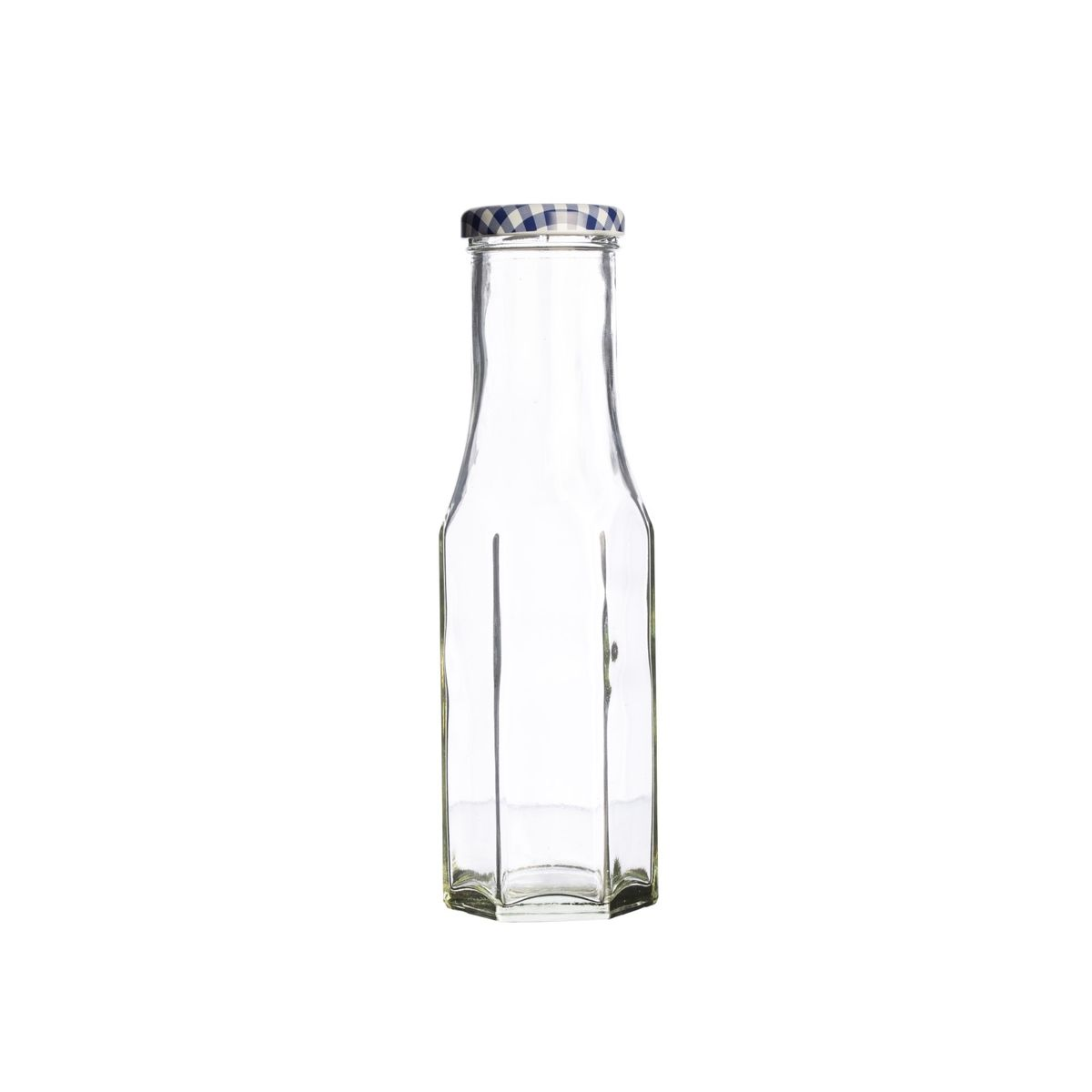 Bouteille de conservation en verre hexagonale twist 250ml - Kilner