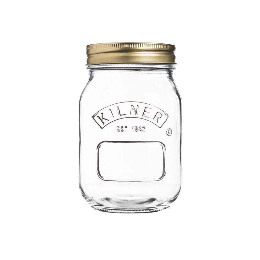 Bocal de conservation à vis en verre 50cl - Kilner