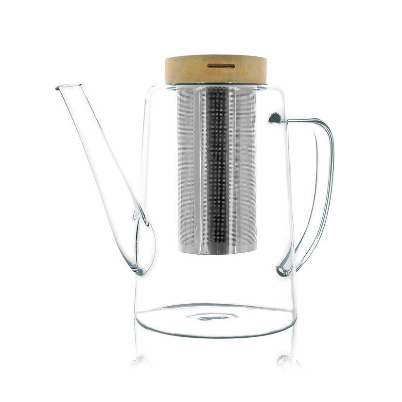 Théière en verre Gustave 1,2L - Ogo