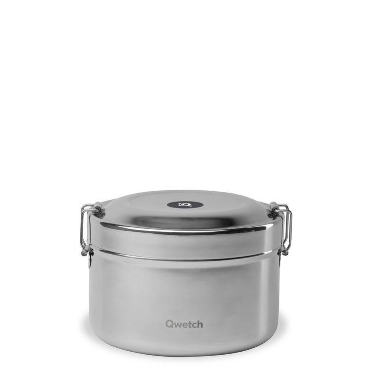 Bento isotherme en inox à compartiment 850ml - Qwetch
