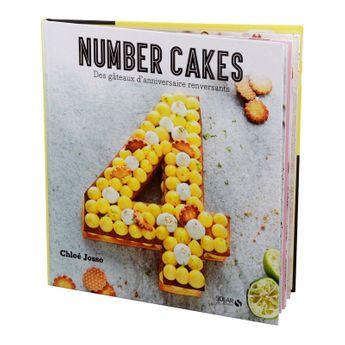 Achat en ligne Number cakes - des gateaux d'anniversaire renversants -Solar