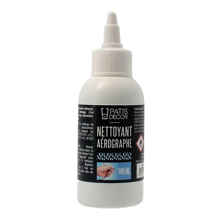 Nettoyant pour aérographe à usage alimentaire 100 ml - Patisdecor
