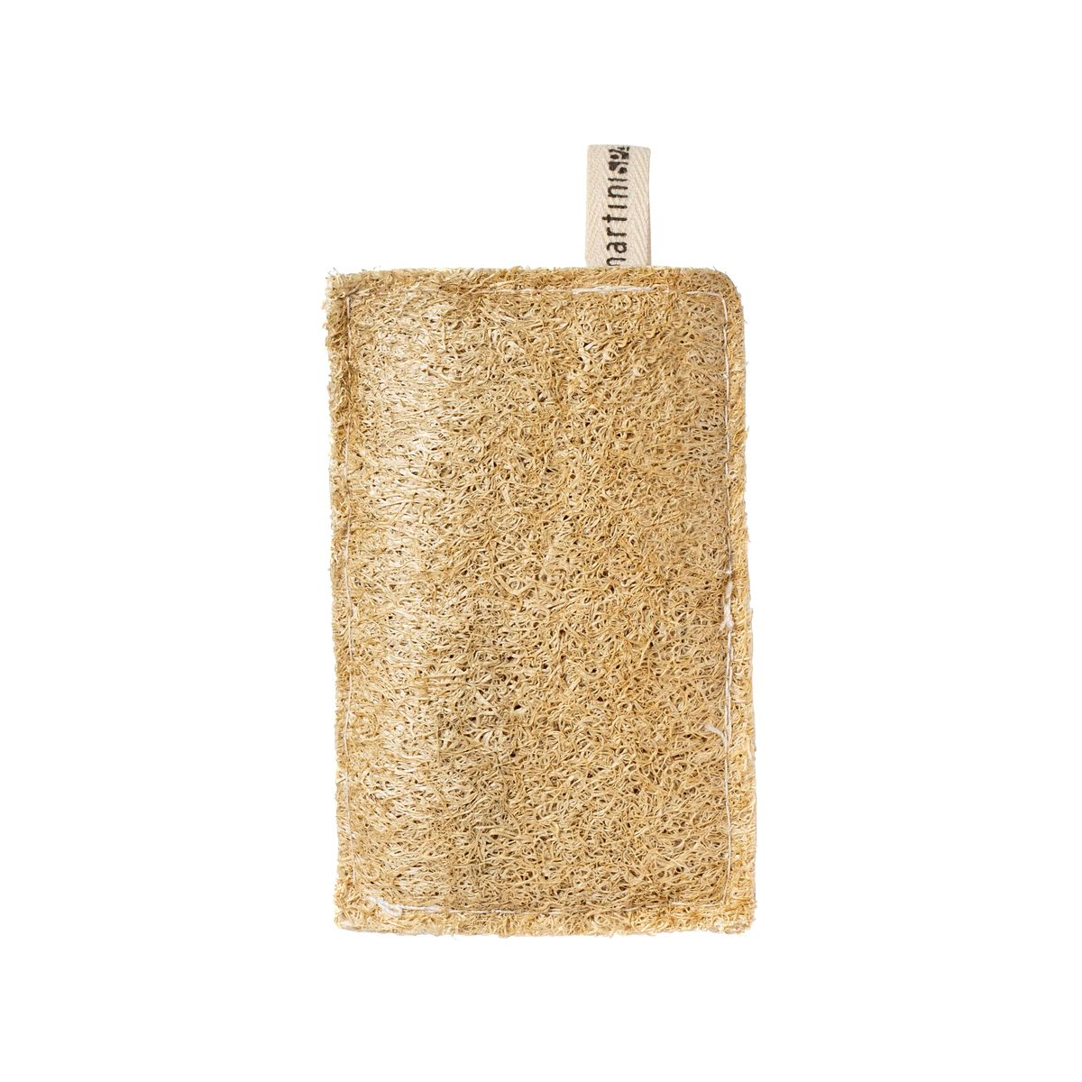 Eponge grattante loofah et cellulose  - Mr Eco