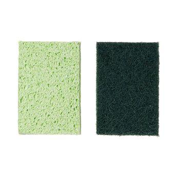 Achat en ligne Eponge grattante x2 pcs cellulose et sisal  - Mr Eco