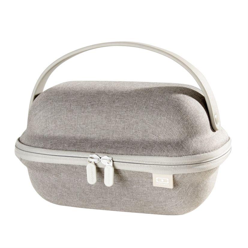 Boîte à lunch box isotherme Cocoon gris - Monbento