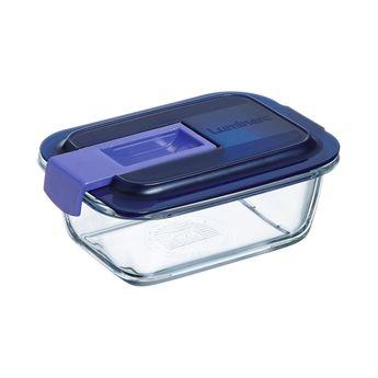 Achat en ligne Boite hermetique Easy Box rectangulaire en verre 38cl 14.2x10.4x6cm - Luminarc