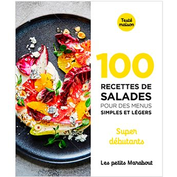Achat en ligne 100 recettes de salades - super débutants - Marabout