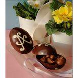 Moule à chocolats en silicone 5 oeufs Pâques - Silikomart