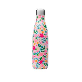 Achat en ligne Bouteille isotherme inox 500ml Flora - Qwetch