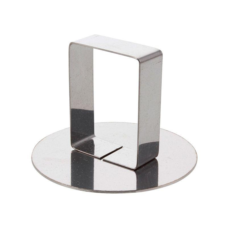 Poussoir en inox pour cercle 7 cm - Alice Délice