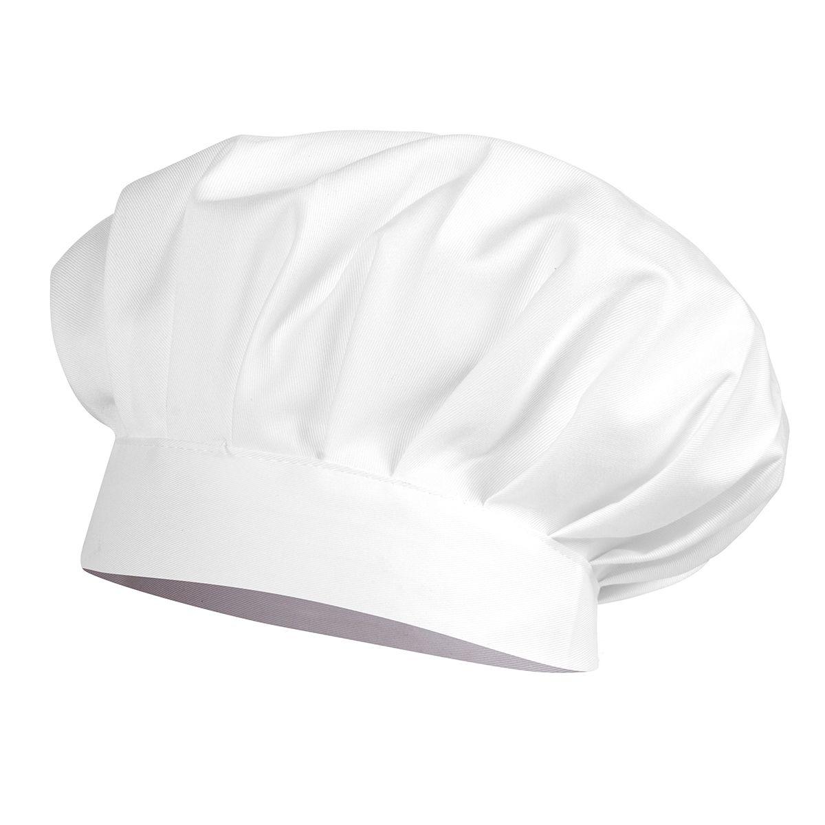 Toque Chef Blanche en 100% coton - Winkler