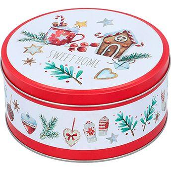 Achat en ligne Set de 3 boîtes à biscuits rondes en métal Noël - Birkmann