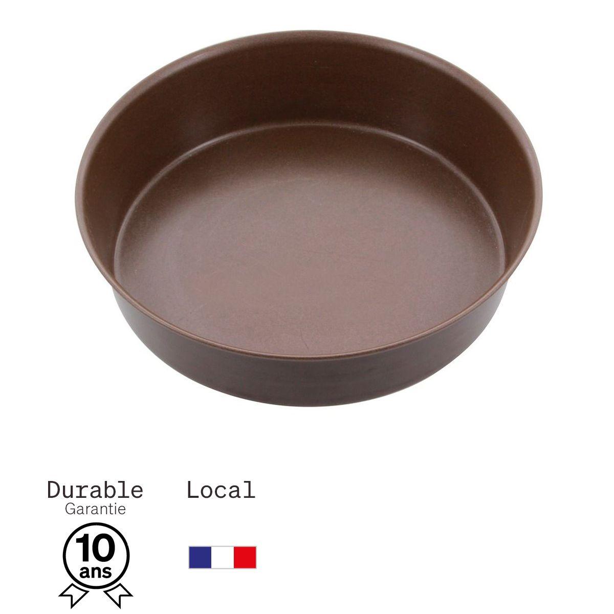 Moule à manqué en métal anti adhérent 4/6 parts 20 cm - Alice Délice