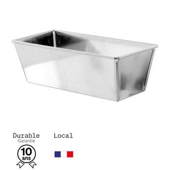 Achat en ligne Moule à cake en fer blanc 7/8 parts 21 cm - Alice Délice