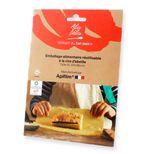 Emballage alimentaire réutilisable coton et cire d´abeille taille XL - Alice Delice