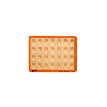 Achat en ligne Moule 28 mini madeleines en silicone et fibre de verre 40 x 30 cm - Silpat