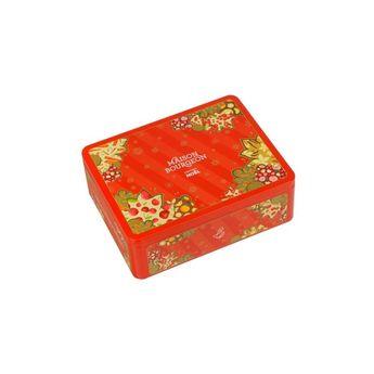 Achat en ligne Coffret de Noël rouge: 4 recettes + 1 pince à thé - Maison Bourgeon