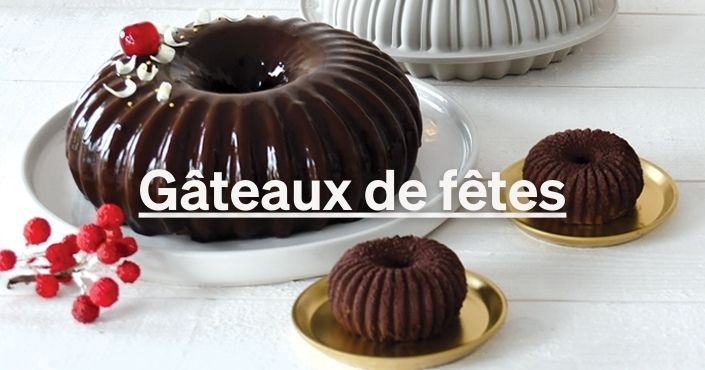 Les recettes de gâteaux de fêtes