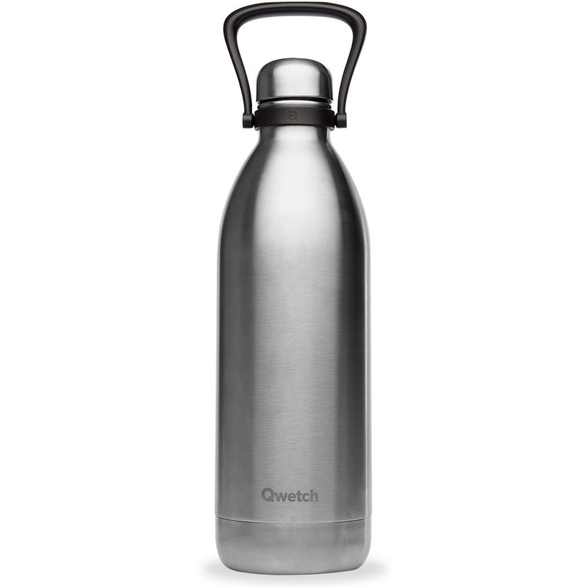 Bouteille isotherme inox brossé - 1500ml - Qwetch