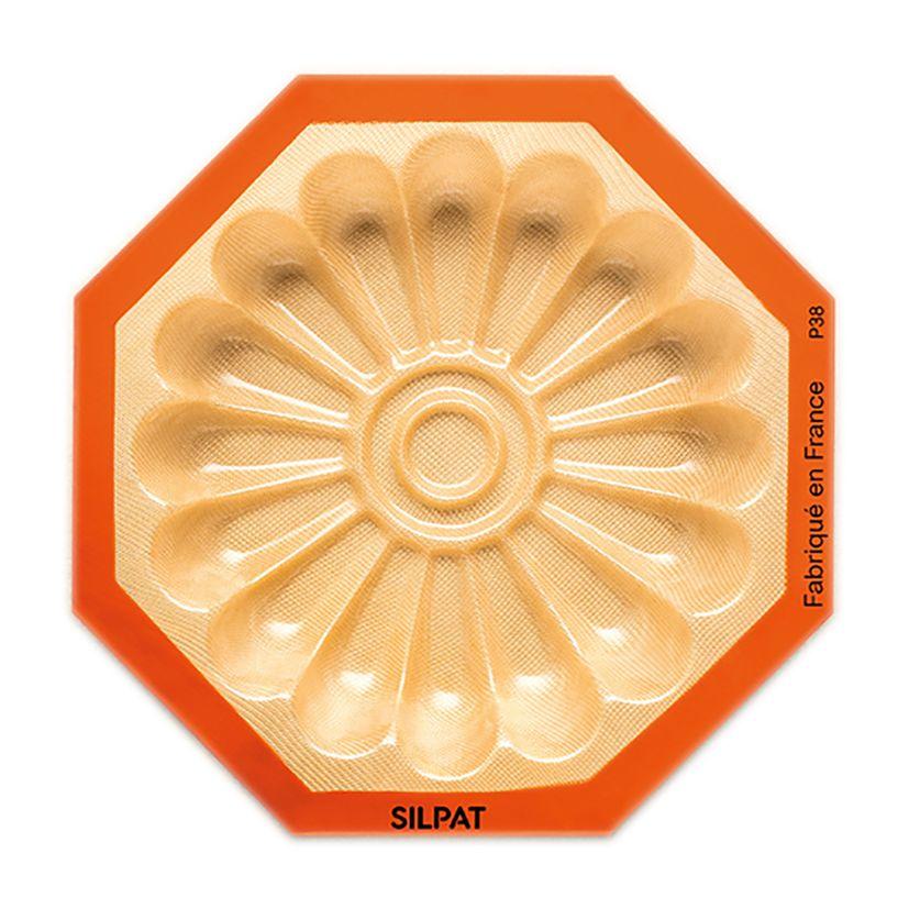 Moule fleur en silicone et fibre de verre 40 x 30 cm - Silpat