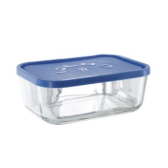 Achat en ligne Boite en verre Igloo rectangle 1,3L - Borgonovo