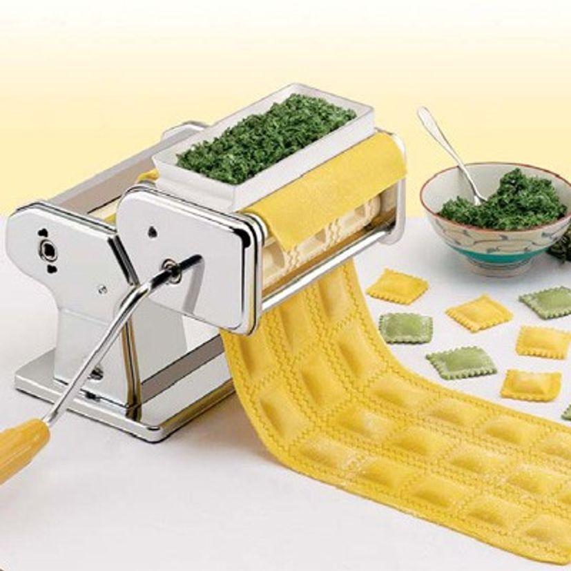 Accessoire à raviolis chromé pour machine à pâtes Atlas 150 - Marcato