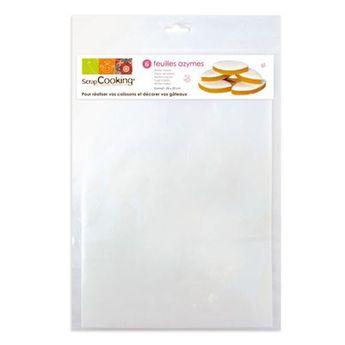 Achat en ligne 6 feuilles en papier azyme A4 - Scrapcooking