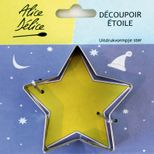 Emporte-pièce inox étoile - Alice Délice