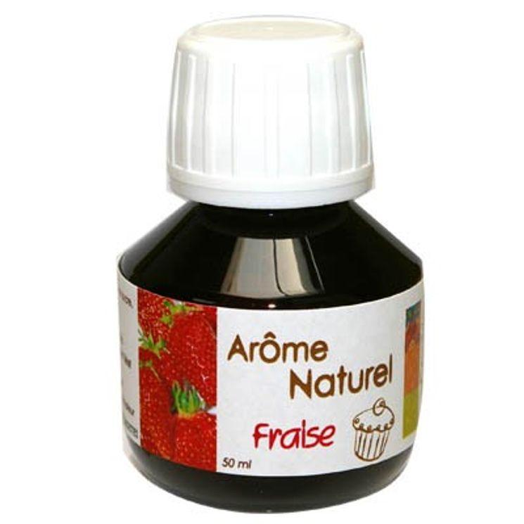 AROME NATUREL DE FRAISE 50ML - SCRAPCOOKING