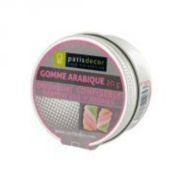 Gomme arabique 20gr - Patisdecor