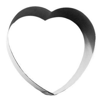 Achat en ligne Coeur en inox 8.5 cm - Gobel