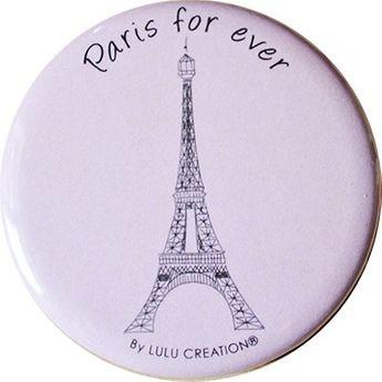 MAGNET DECAPSULEUR - PARIS FOR EVER - LULU CREATION