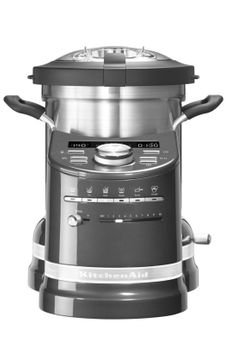 COOK PROCESSOR ROBOT CUISEUR GRIS ETAIN - KITCHENAID