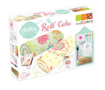 ATELIER ROLL CAKE - SCRAPCOOKING