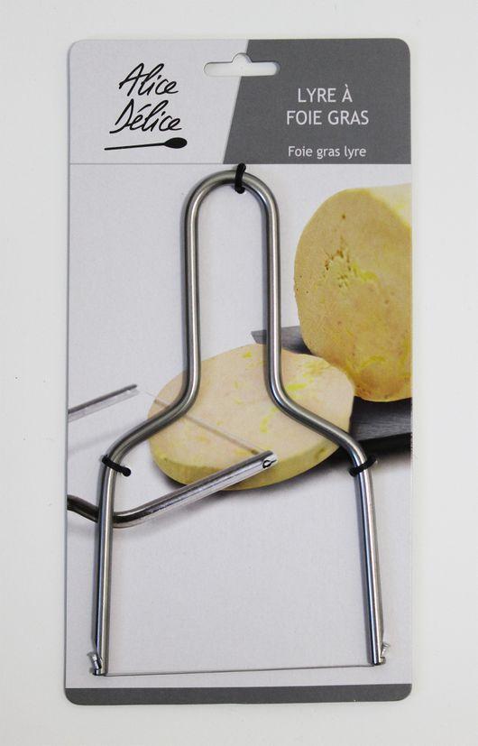 Lyre foie gras / fromage - Zodio